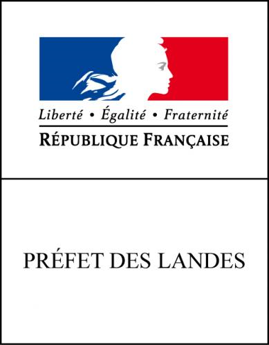 logo ddcspp 40 et préf