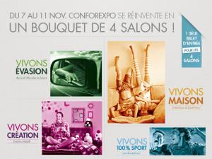 Vivons 100% Sport Conforexpo – Bordeaux, du 7 au 11 nov. 2013