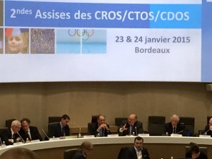 2èmes Assises Nationales CROS/CTOS/CDOS – 23/24 janv. 2015 à Bordeaux