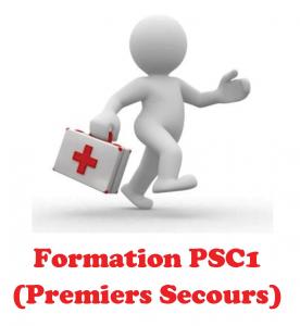Formation aux PSC 1 à Dax, le 9 nov. 2017