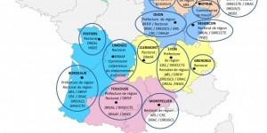 Nouvelle organisation territoriale de l'Etat en Aquitaine