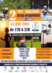 Challenge Inter-Entreprises 28 JUIN 2018 HAGETMAU